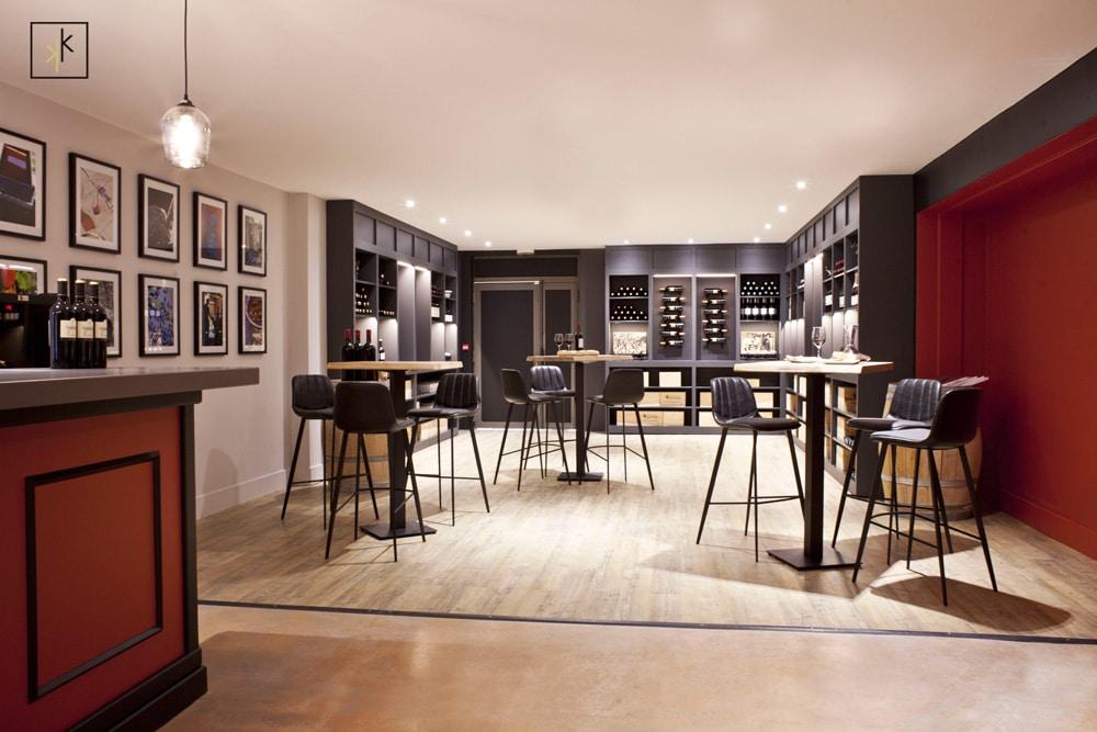 bar à vin decoration moderne et classe