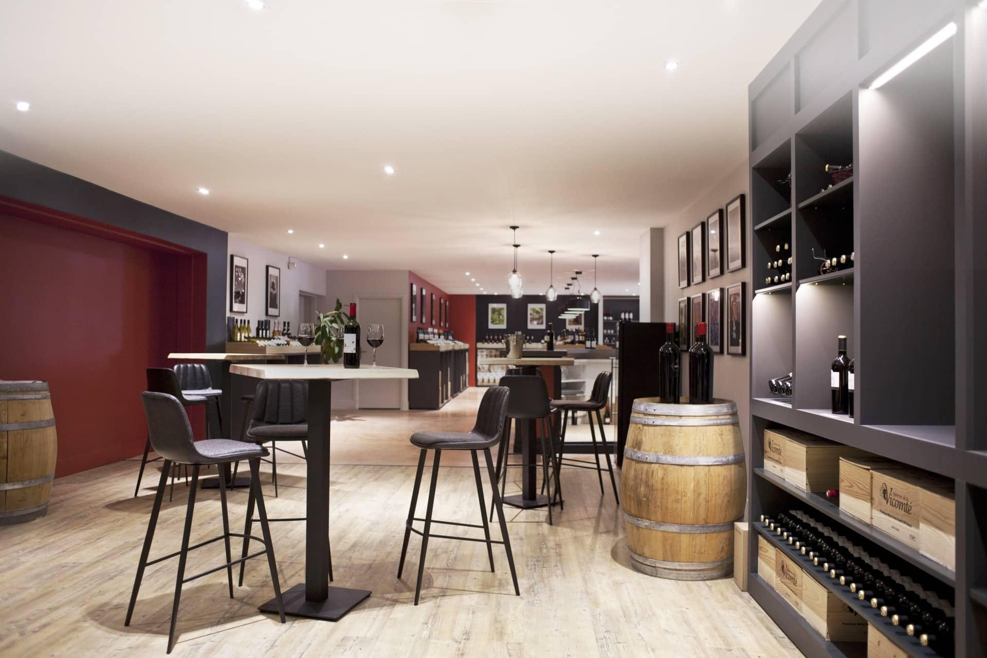 bar a vin moderne decoration haut de gamme